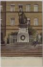 AK Halle an der Saale Francke-Denkmal mit Kindern 1910