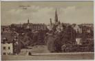 AK Löbau in Sachsen Ortsansicht mit Kirche 1917