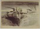 Künstler-AK Vernichtete Sowjetpanzer Verlag Gutjahr Nr. 76 1940