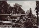 AK Foto Reit im Winkl Walmberg-Sesselbahn Berggaststätte mit Menschen 1968