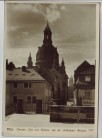 AK Foto Dresden Dom und Rathaus von der Brühlschen Terrasse Walter Hahn 1953