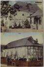 AK Wickersheim Wilshausen Gasthof mit Saal Menschen Bas-Rhin Elsass Frankreich 1910 RAR
