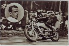AK Foto Karl Bodmer Rennfahrer Auto Union DKW Motorrad 1940