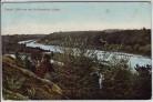 AK Isartal Blick von der Großhesseloher Brücke bei Großhesselohe Pullach München 1907
