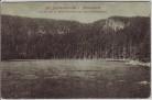 AK Blöckenstein-See im Böhmerwald Šumava Plöckensteinsee Plešné jezero bei Neuofen Nová Pec Böhmen Tschechien 1920