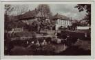 AK Foto Ledvice Ladowitz Ortsansicht mit Brücke bei Teplice Teplitz Böhmen Tschechien 1930 RAR