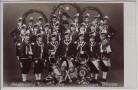 AK München Schäfflertanz Fahnen-Gruppe Gruppenfoto 1949