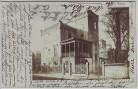 AK Foto Crimmitschau Hausansicht Villa mit Turm 1906 RAR