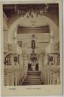 AK Triebes Inneres der Kirche bei Zeulenroda 1920