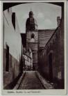 AK Eisleben Dunkles Tor mit Petrikirche 1950