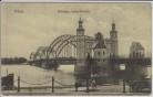 AK Tilsit Sowetsk (Kaliningrad) Königin Luise-Brücke Ostpreußen Russland 1915