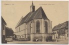 VERKAUFT !!!         AK Kamenz in Sachsen St. Justkirche mit Menschen 1927