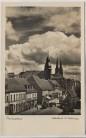 AK Foto Pirmasens Strassenansicht mit 2 Kirchen Striemann 1940