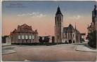 AK Düren Stadttheater und Marienkirche 1920