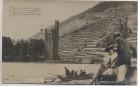 AK Foto Mäuseturm bei Bingen Boot mit Liebenden 1909