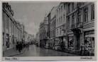 AK Foto Düren Rheinland Wirtelstraße viele Menschen Autos 1940