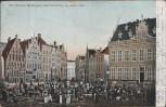 AK Bremen Marktplatz und Schütting im Jahre 1840 1905