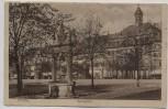 AK Hanau in Hessen Marktplatz Feldpost 1916