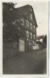 AK Niedernhausen Odenwald Landheim der Darmstädter Eleonorenschule bei Schloß Lichtenberg mit Kindern 1933