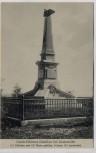 AK Garde-Schützen-Bataillon bei Amanweiler Amanvillers Kriegerdenkmal Lothringen Frankreich 1913