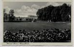 AK Foto Kassel Südtstadt Hessenkampfbahn mit Fahnen 1935