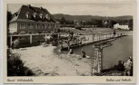 AK Foto Kassel Wilhelmshöhe Freibad und Herkules Hausansicht 1935 RAR