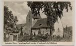 AK Foto Lauenstein in Hannover Spiegelberger Kapelle Grabsteine b. Salzhemmendorf 1935 RAR