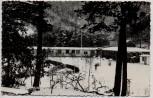 AK Foto Saalfeld Remschütz Betriebsferienlager Magnus Poser im Winter 1964
