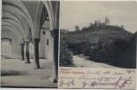 AK Kloster Huysburg mit Bibliotheksaal b. Huy Dingelstedt 1906