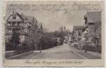AK Braunfels Langgasse mit Schloßhotel 1914