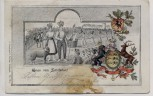 AK Markgröningen Gruss vom Schäferlauf 1905 RAR