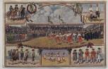AK Markgröningen Schäferlauf Offizielle Postkarte 1910