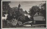 AK Maria Eck Kirche mit Mönch bei Siegsdorf 1940