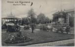 AK Gruss aus Krautsand Buhrfeind's Hotel b. Drochtersen 1912