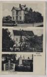VERKAUFT !!!   AK Gruss aus Arras Restauration Haltestelle Schule und Kriegerdenkmal b. Geringswalde 1910 RAR