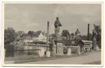 AK Deutsch Gabel Jablonné v Podještědí seltene Ortsansicht Tschechien 1940