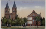 AK Koblenz Arenberg Kirche Roter Hahn Feldpost 1915