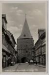 AK Foto Goslar am Harz Breitestraße mit Breiten Tor 1930