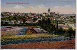 AK Blumenstadt Quedlinburg Ortsansicht 1910