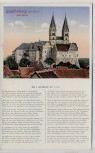 AK Quedlinburg am Harz Der Dom mit Gedicht 1910