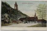 AK Kyffhäuser Wirtschaft Kyffhäuser-Denkmal 1910