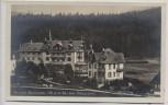 AK Foto Herrenwies Kurhaus und Gasthaus Auerhahn b. Forbach Schwarzwald 1930