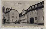 AK Weimar Am Frauenplan mit Goethe-Museum und Gaststätte Weißer Schwan 1942