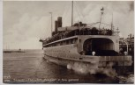 AK Foto Sassnitz Fährschiff Preußen in See gehend 1920