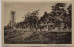 AK Jena Forsthaus und Kriegerdenkmal 1920