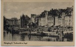 VERKAUFT !!!   AK Königsberg in Preußen Fischmarkt am Pregel Kaliningrad Ostpreußen Polen 1930