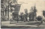 AK Darmstadt Künstlerkolonie Straße mit Kirche 1906