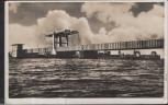 AK Stralsund Klappbrücke im Zuge des Rügendammbaues 1938