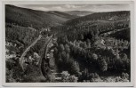 AK Foto Aue in Sachsen Blick ins Bockauer Tal mit Bahngleis Bockau 1939