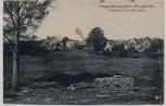 AK Truppenübungsplatz Königsbrück Verlassenes Dorf Otterschütz 1925